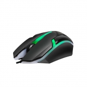 Mouse Gamer Usb c/ Leds 1000 DPI 3 Botoes Cabo 1.5 Metros MU2908 - Hayom