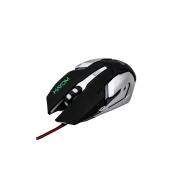 Mouse Gamer Usb - Hayom  - C/Leds Rgb 2400 Dpi 6 Botoes Cabo 1.4 Metros - MU2906