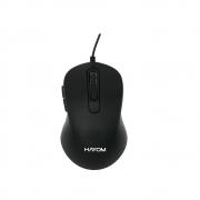 Mouse Office Preto Usb 2400 Dpi 6 Botoes - Hayom -  MU2902