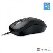 Mouse Optical Basic Com Fio Usb Preto Microsoft - P5800061