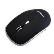 Mouse Sem Fio Wireless Hayom 4 Botoes 1600 Dpi Preto MU2913