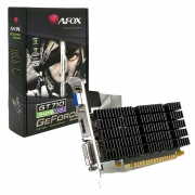 Placa de Video Afox Geforce Gt 710 2Gb Ddr3 64 Bits - Hdmi - Dvi - Vga - AF710-2048D3L7 - 0077120-01