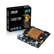 Placa Mãe Asus C/Proc Intel J1800 Dc 2.58Ghz 2xDdr3L Vga Hdmi Serial Usb 3.0 J1800I-C/Br Oem