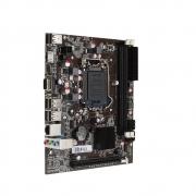 PLACA MAE BRX LGA 1155 H61 HDMI VGA 6xUSB2.0 2xDDR3(MAX RAM 16GB) PCI-E 2ª e 3ª Ger (BOX)