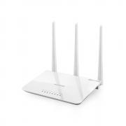ROTEADOR WIRELESS DUAL BAND 2.4 Ghz 300 Mbps LAN 10/100Mbps IPV6 C/4ANTENAS MULTILASER BRANCO-RE163V