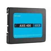 SSD Multilaser 2,5 60GB AXIS 400 GRAVAÇÃO 400 MB/S - SS060