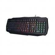 Teclado Gamer Luminoso USB C/Leds - Bright - 0464