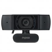 WEBCAM RAPOO C200 HD 720P (1280x720P) MICROFONE C/ ABSORÇÃO DE RUIDOS USB2.0 CABO 1.5M ROT360º-RA015