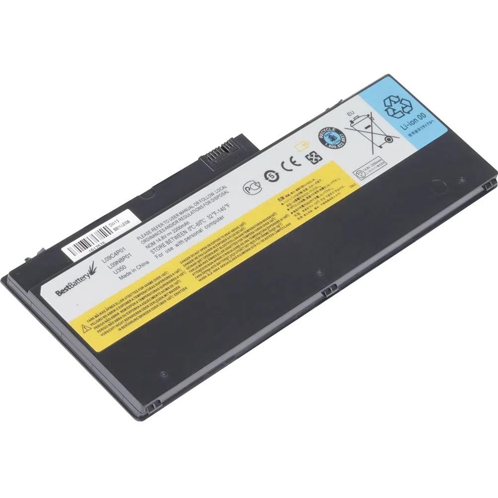 BATERIA PARA NOTEBOOK IDEAPAD 14,8V 2200 Mah U350-4S1P  - Districomp Distribuidora
