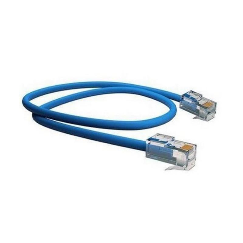 Cabo de Rede CAT5E Cmx Soho Plus  Azul 1,20M - AI1005 - Hayom  - Districomp Distribuidora
