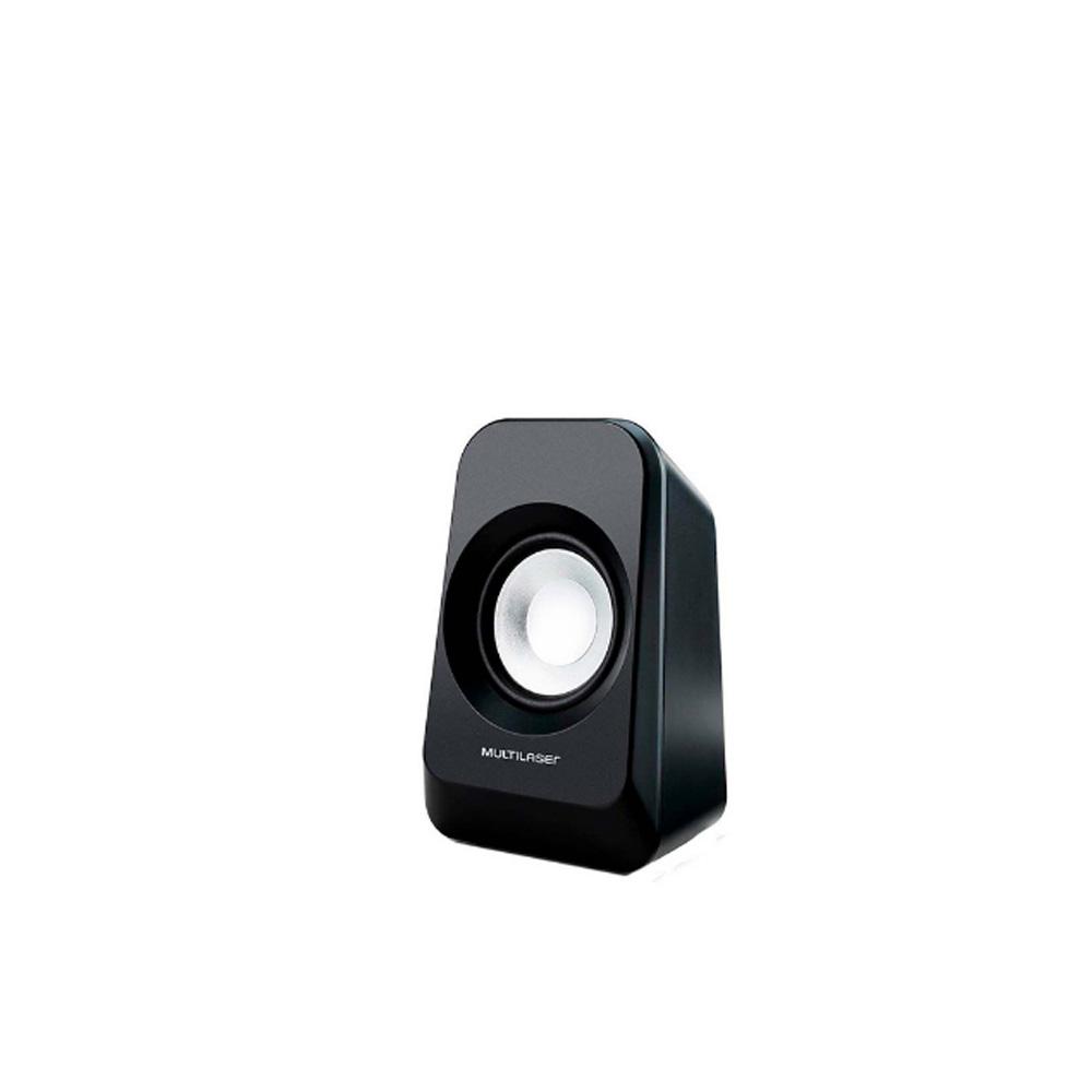 Caixa De Som Multilaser Super Bass 2.1 Preta Bivolt 20w Rms - SP377  - Districomp Distribuidora