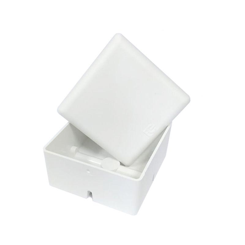 Caixa Plástica De Sobrepor interna  para CFTV IP54 BRANCA - FCCX020N