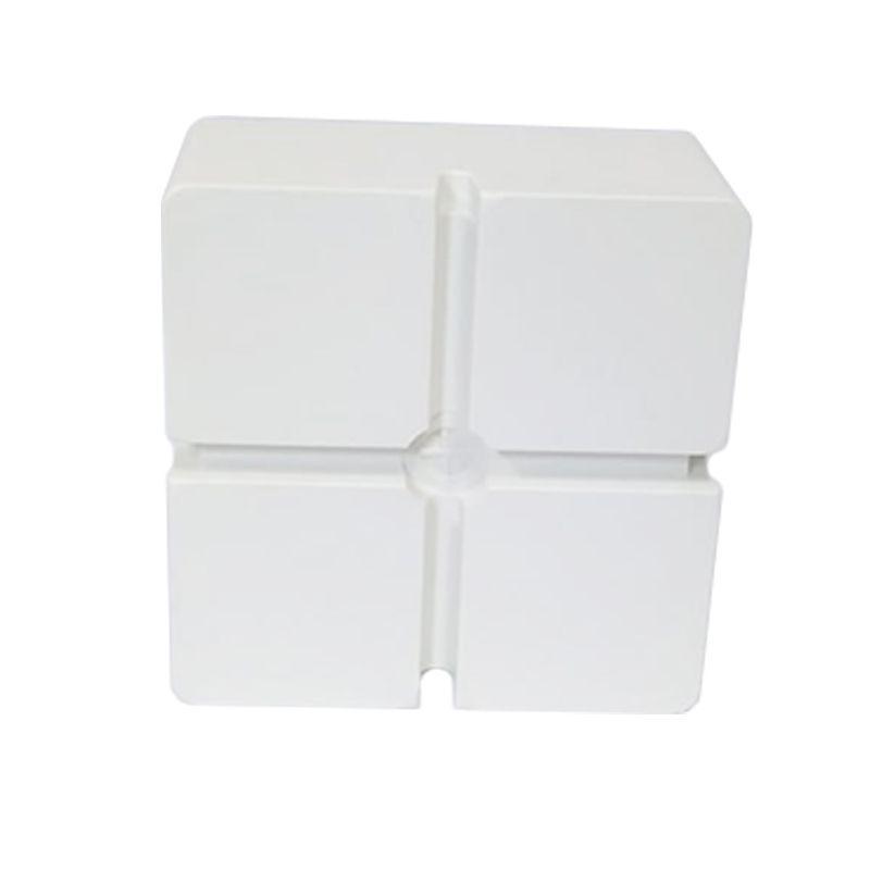 Caixa Plástica De Sobrepor interna  para CFTV IP54 BRANCA - FCCX020N  - Districomp Distribuidora