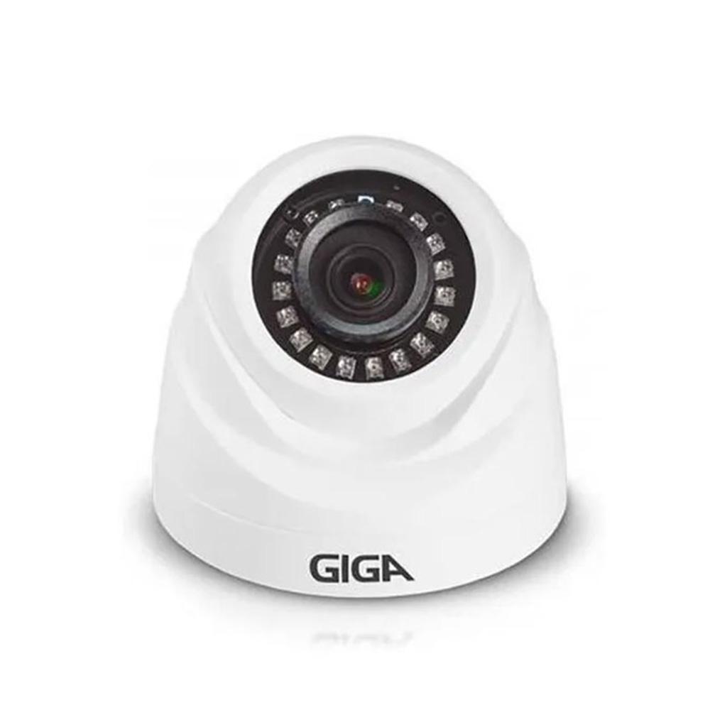 CAMERA DE SEGURANCA GIGA SECURITY DOME 1080p 20m INFRA 1/2.9 3.6mm  IP66 - GS0270  - Districomp Distribuidora