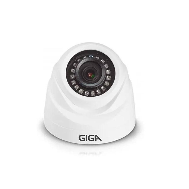 CAMERA DE SEGURANCA GIGA SECURITY DOME MET 1080p INFRA 30m 1/2.7 2.8MM IP66 2MP - GS0274  - Districomp Distribuidora