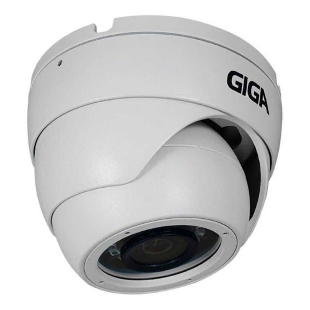 CAMERA DE SEGURANCA GIGA SECURITY MET ORION 1080p INFRA 30m CMOS 1/2.7 3.6mm IP66 - GS0272  - Districomp Distribuidora