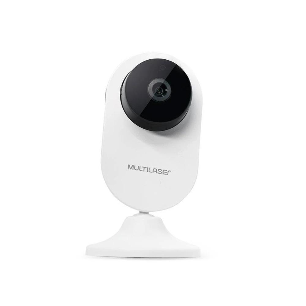 Camera De Seguranca Interna Inteligente Wi-fi Hd 720p 1mp  - Districomp Distribuidora