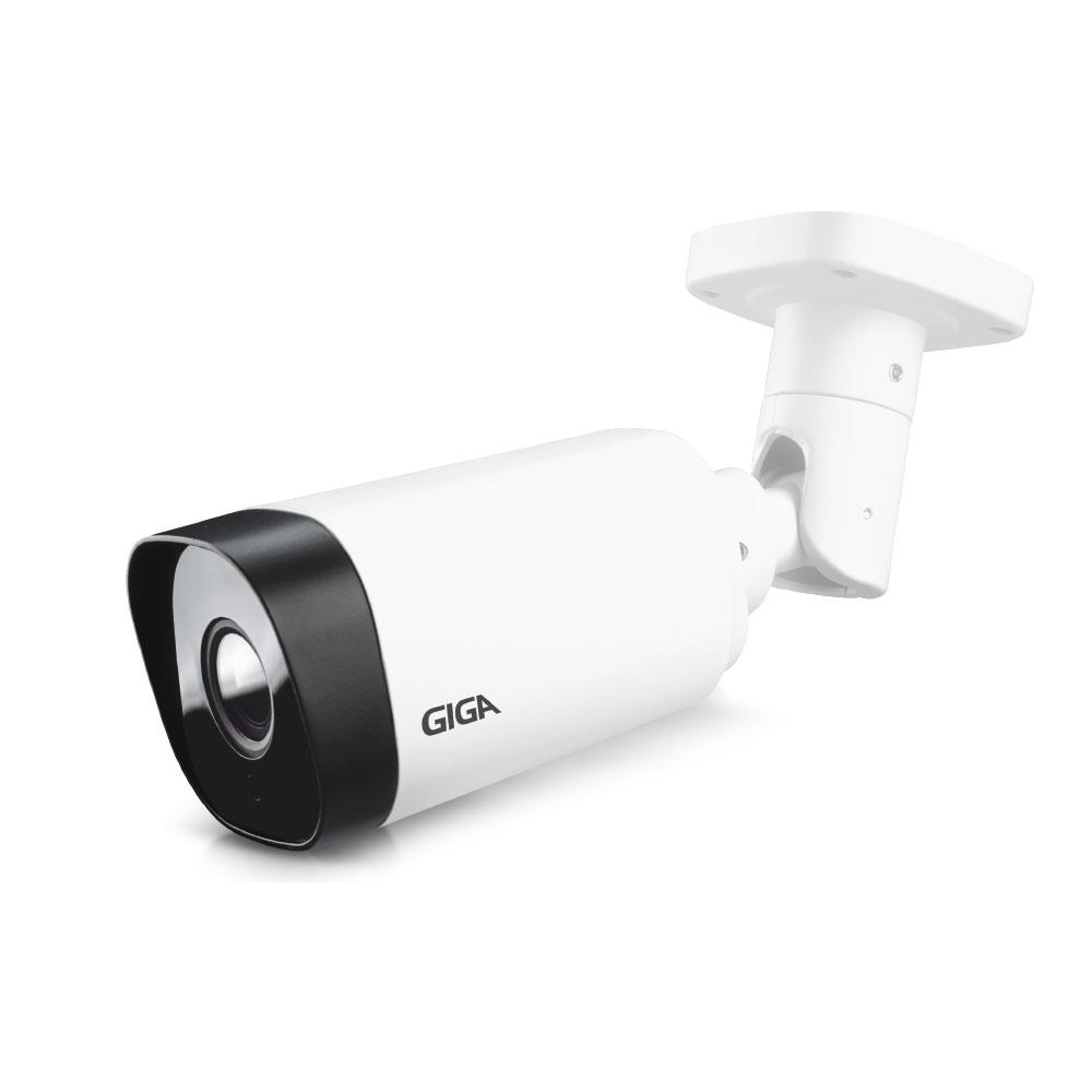 CAMERA IP BULLET METAL 1080p GIGA SECURITY POE 5 MEGAPIXELS IR VARIFOCAL 50M DWDR- GS0375  - Districomp Distribuidora