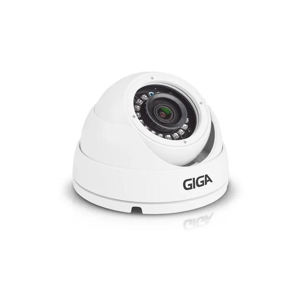 Câmera IP Dome POE 5MP Infravermelho GIGA GS0373