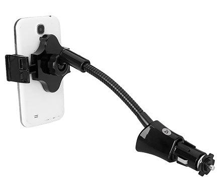 Carregador Veicular Com Suporte Bright - 0431  - Districomp Distribuidora