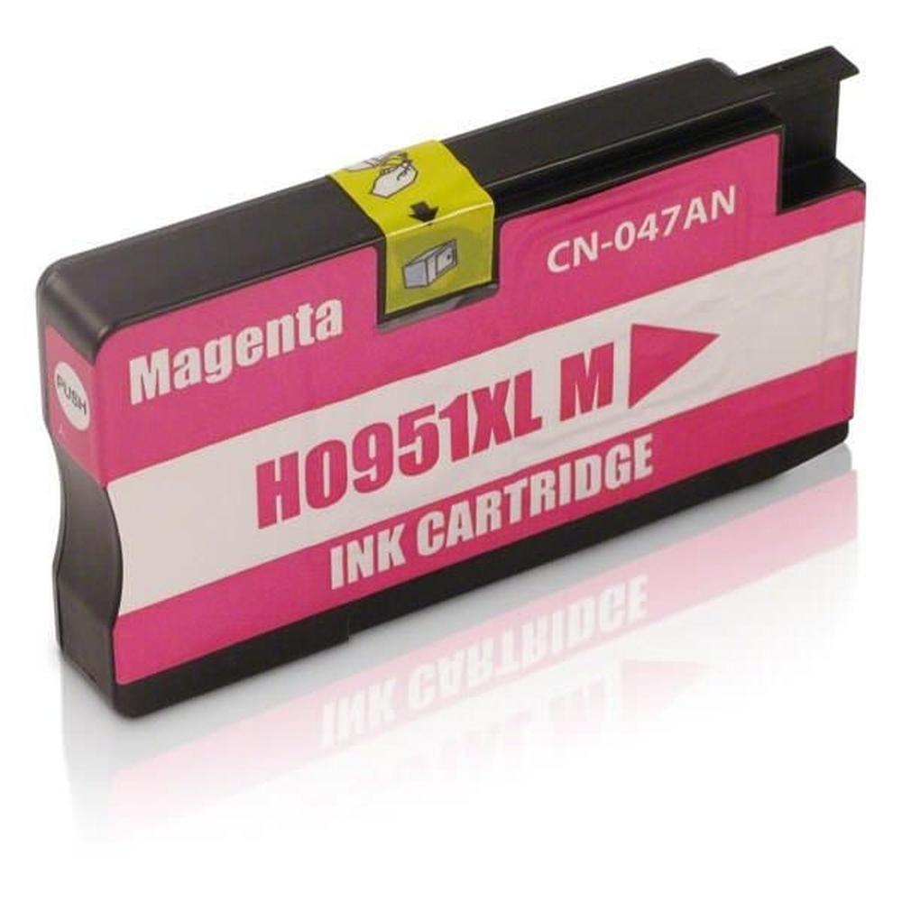 CARTUCHO COMPATIVEL HP 951XL 28ML MAGENTO BULK (N)