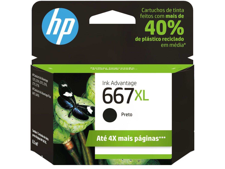 CARTUCHO HP 667 XL 3YM80AL COLOR 8ML ORIGINAL  - Districomp Distribuidora