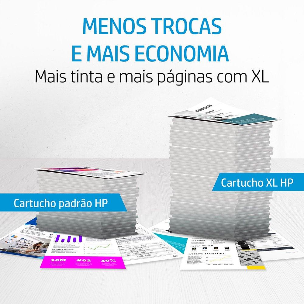 CARTUCHO HP 667 XL 3YM81AL PRETO 8.5ML ORIGINAL  - Districomp Distribuidora