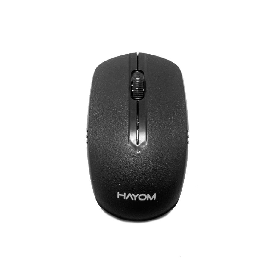Combo Teclado e Mouse Hayom Sem Fio Office TC3210  - Districomp Distribuidora