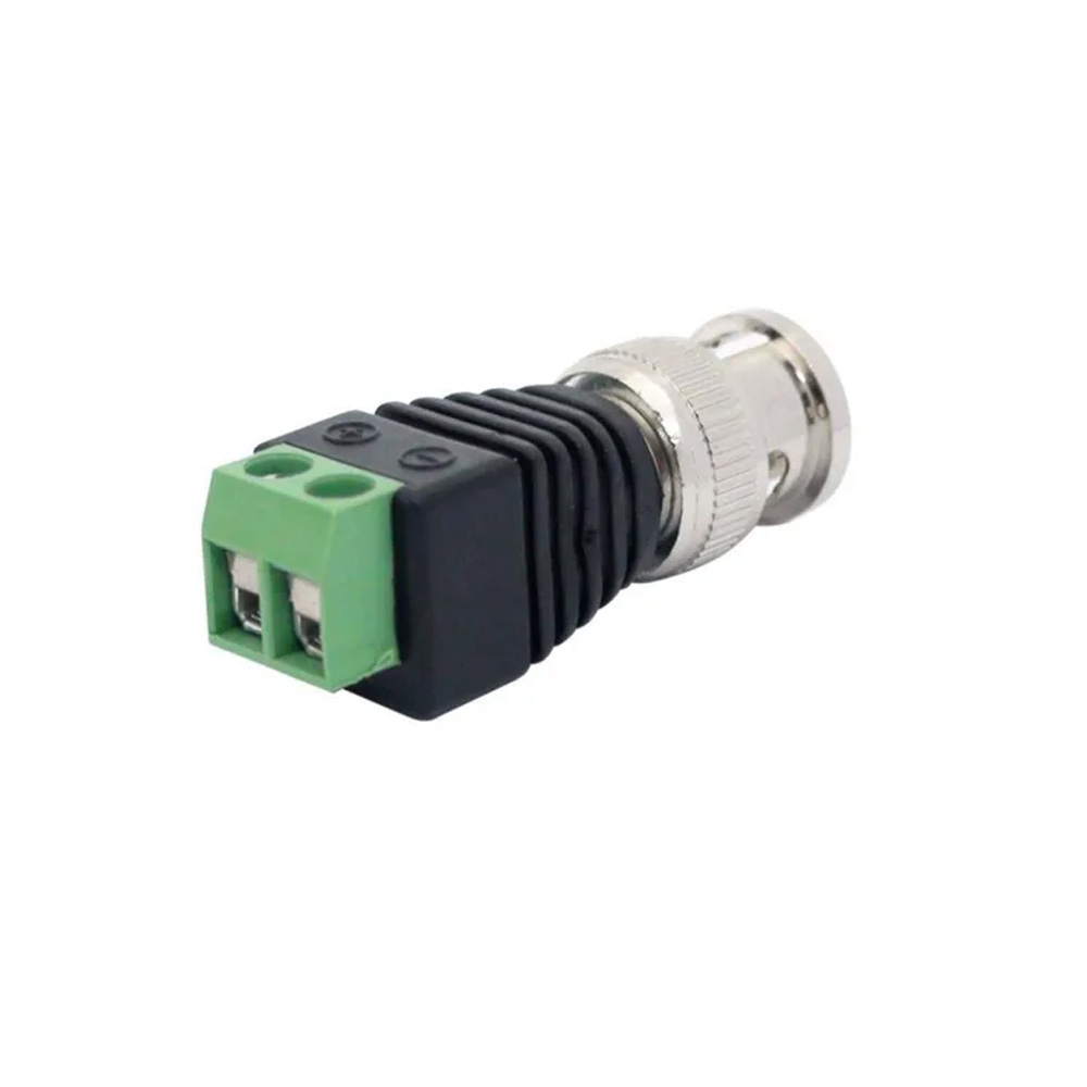 Conector Bnc Macho Borne - fcbncbrn  - Districomp Distribuidora
