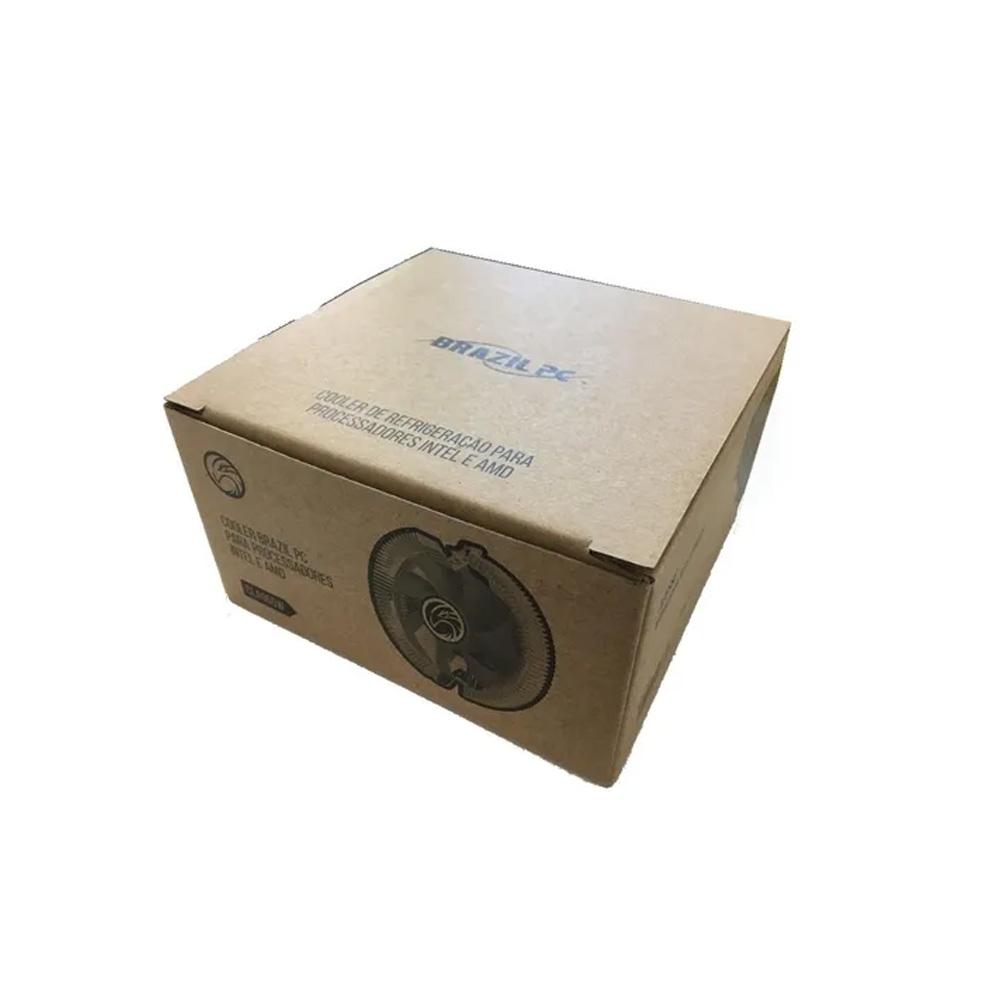Cooler Universal Brazilpc Intel e Amd CLA965W PW- Box  - Districomp Distribuidora