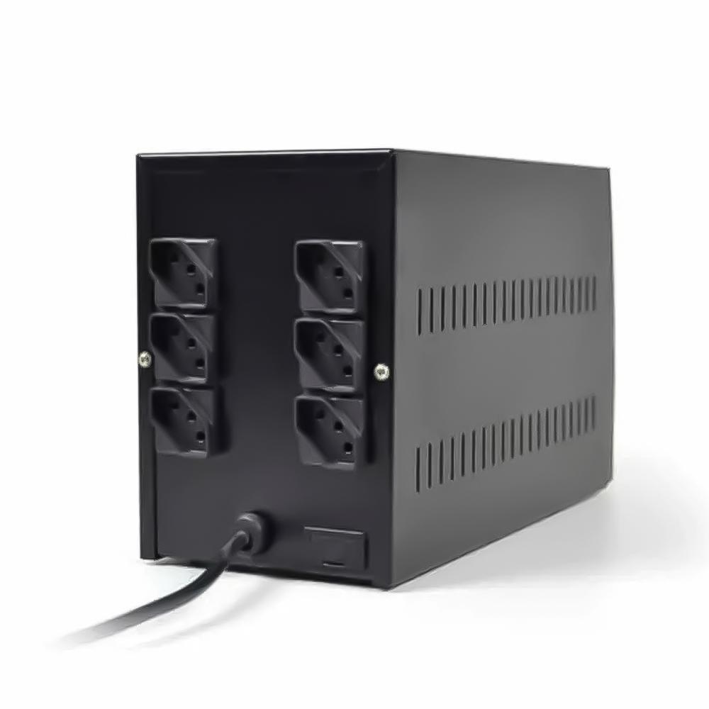 Estabilizador  TS- Shara  Powerest  1500VA BIV ENT-115V/220V SAI-115V 6 Tomadas (9009)  - Districomp Distribuidora