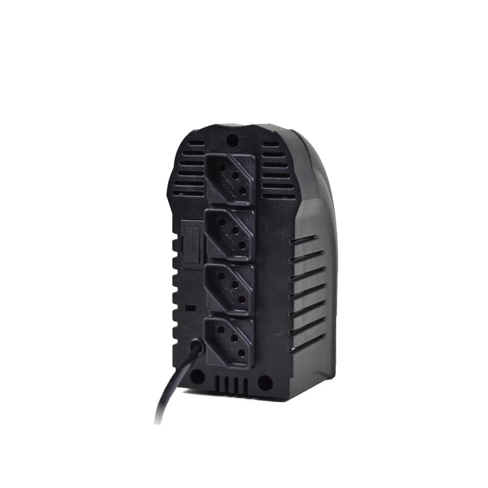 Estabilizador TS-Shara PowerEst 500VA  BIV ENT-115V/220V SAI-115V 4 Tomadas (9016)  - Districomp Distribuidora