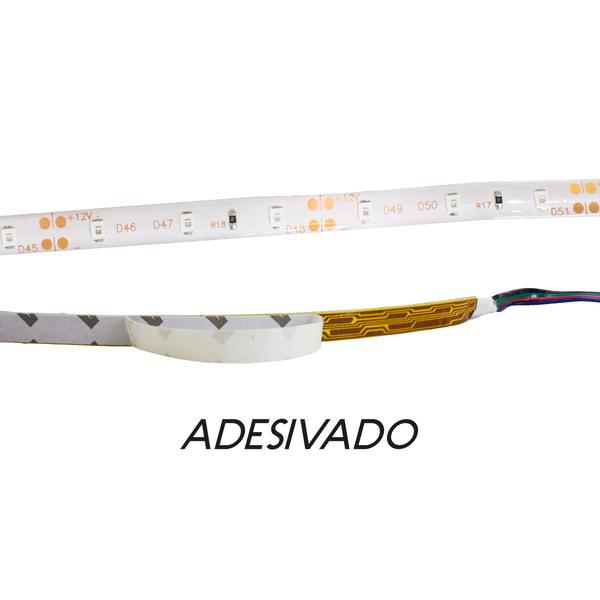 FITA LUMINARIA DE LED 5 MTS DE 8 MM B-AZUL - 3528-60 - 30290020016  - Districomp Distribuidora