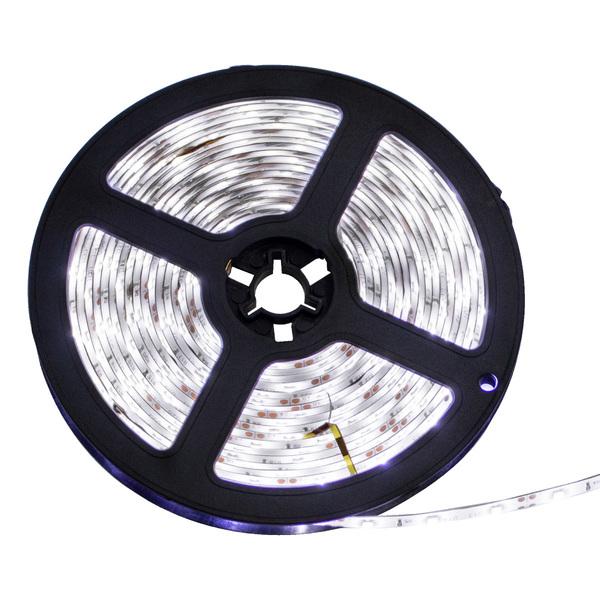 FITA LUMINARIA DE LED 5 MTS DE 8 MM W-BRANCO FRIO - 3528-60 - 30290020018
