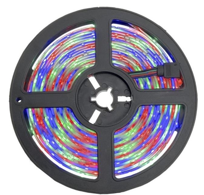 FITA LUMINARIA S/ CONTROLE DE LED 5 MTS DE 8 MM RGB (VERM, VERD, AZUL) - 3528-60 - 30290020044