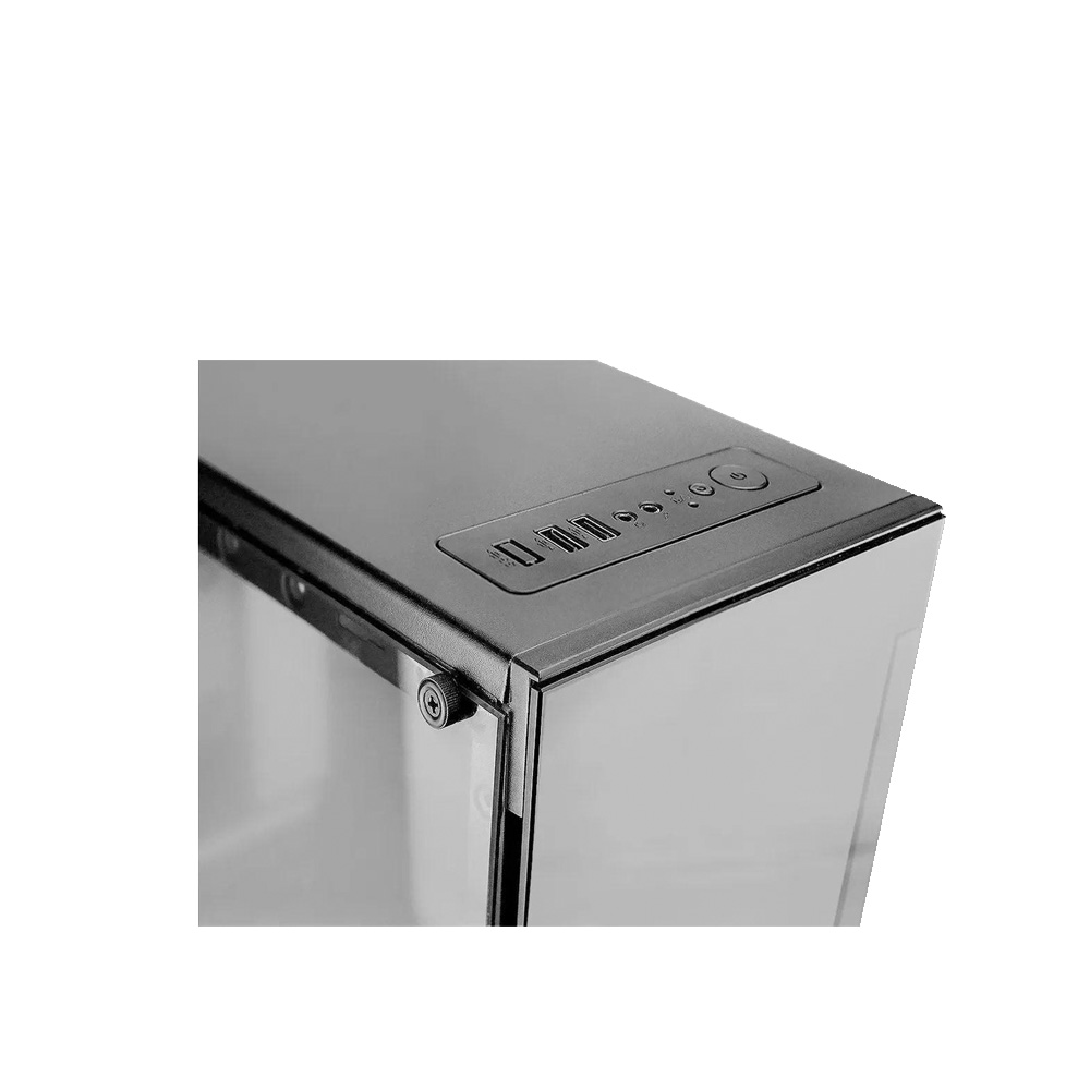 Gabinete Gamer - Black - Brazil PC -BPC-330ATX - Sem Fonte  - Districomp Distribuidora