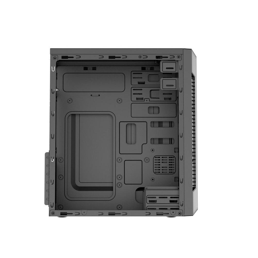 Gabinete Gamer BrazilPC BPC-C3147 BLACK 2x2,5 2x3,5 2xUSB2.0 SUP4xFANs 6xPCILAT ACRILIC  - Districomp Distribuidora