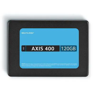 HD SSD MULTILASER AXIS 400 120GB - SS101 - COM BLISTER