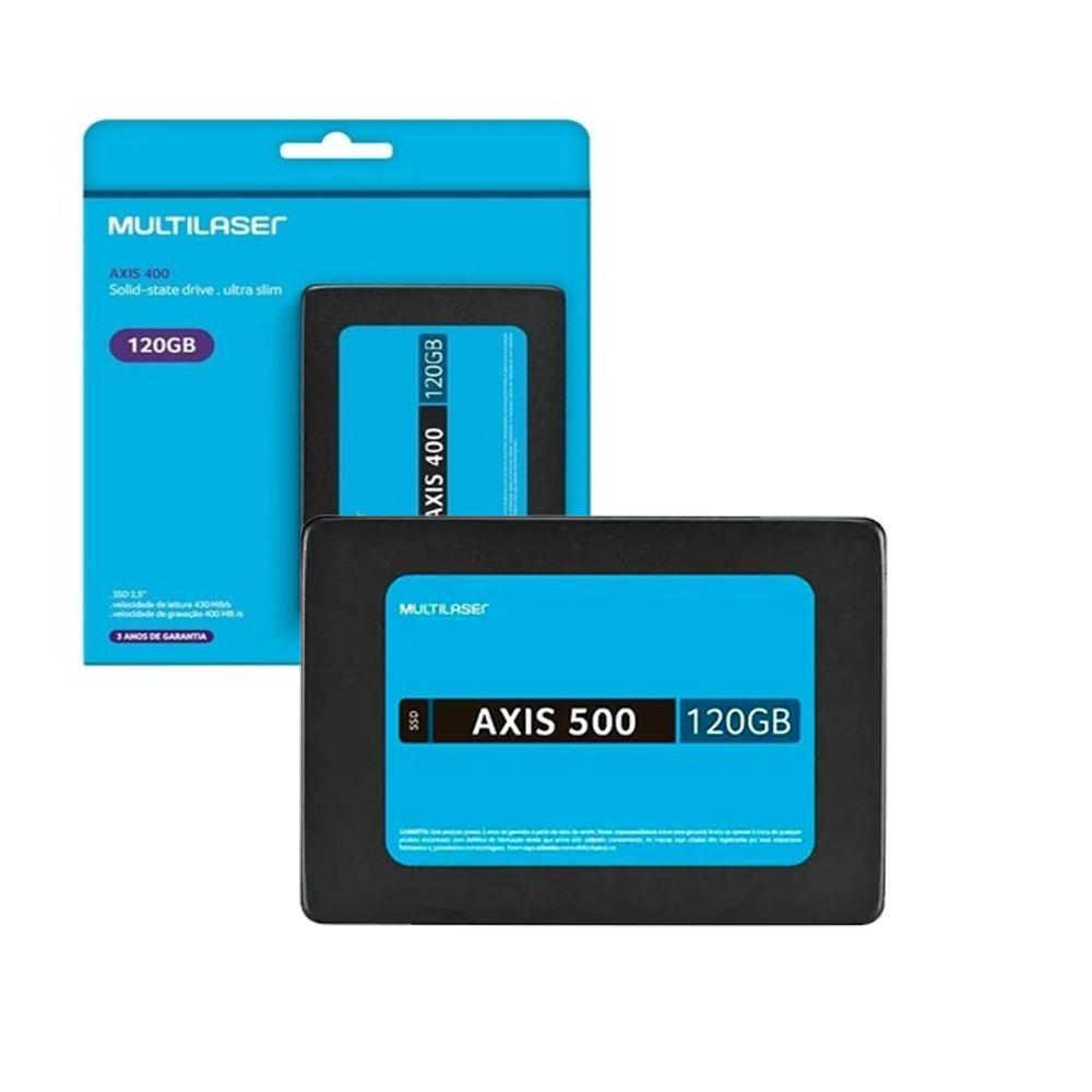 Hd Ssd Multilaser Axis 500 120Gb Sata III - SS100