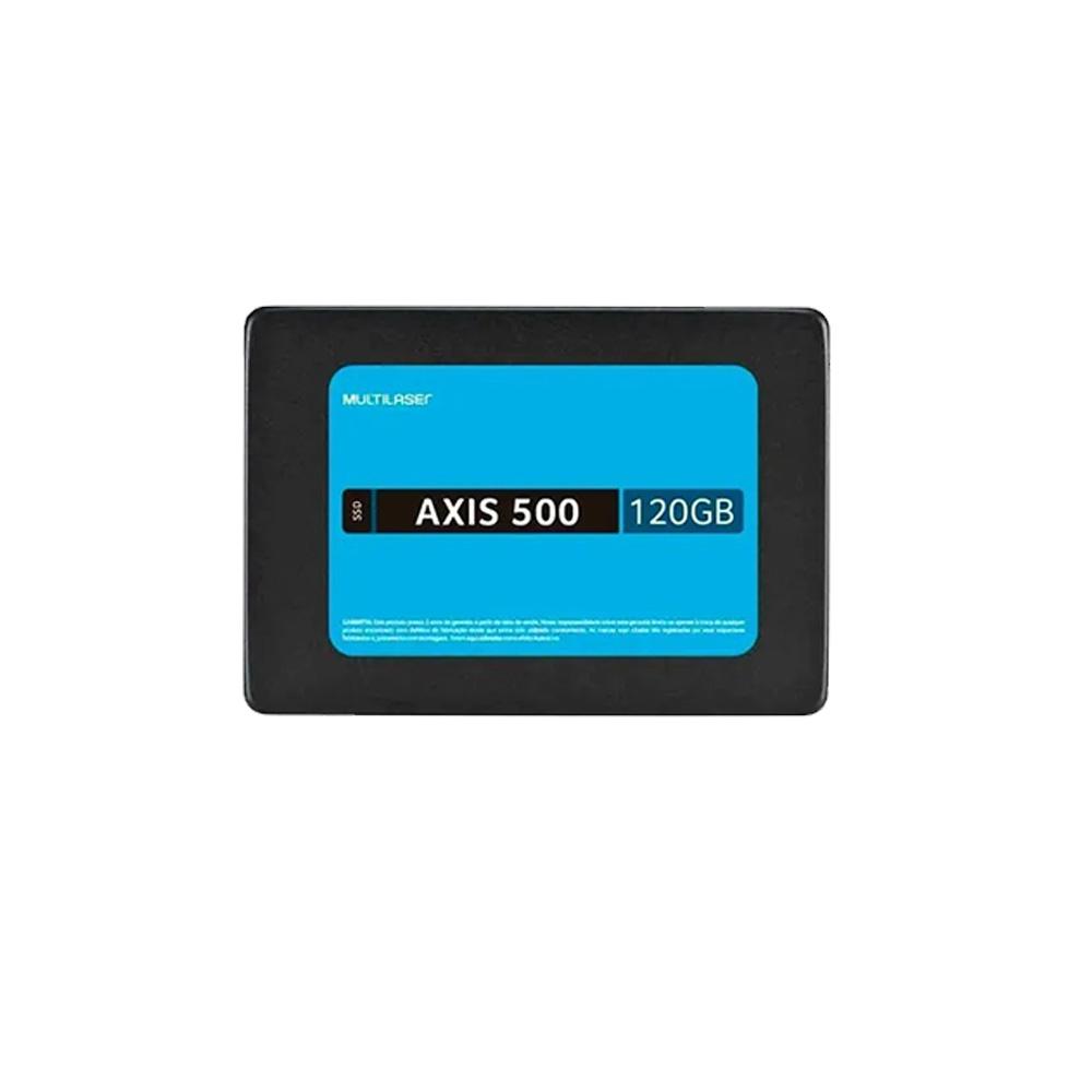 Hd Ssd Multilaser Axis 500 120Gb Sata III - SS100  - Districomp Distribuidora