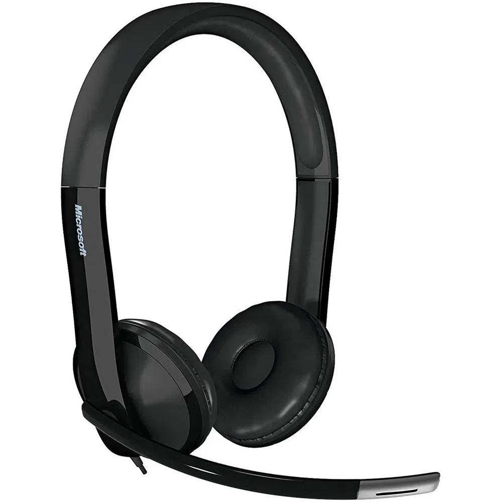 HEADSET MICROSOFT LX-6000 USB PRETO - 7XF0001