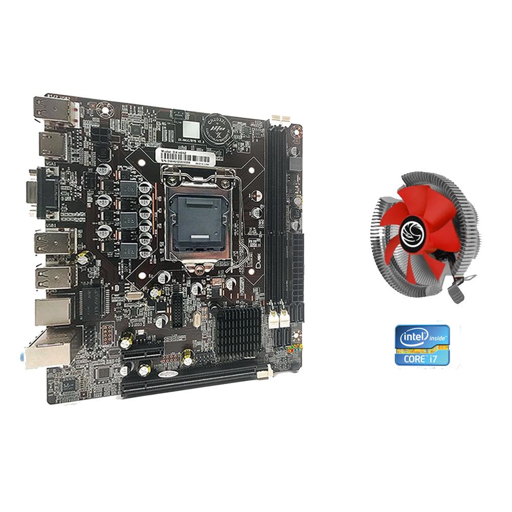 Kit Upgrade Core I7 + Placa Mãe 1155 + Cooler  - Districomp Distribuidora