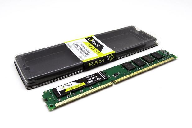 Memória  Oxy DDR3 4GB 1600MHz  - Districomp Distribuidora