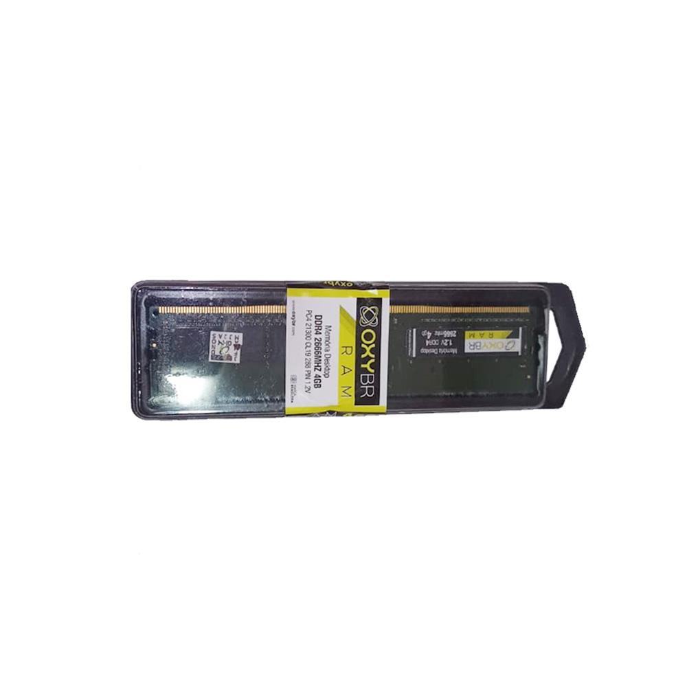 Memoria  Oxy Para Desktop Ddr4 2666Mhz 4GB  - Districomp Distribuidora