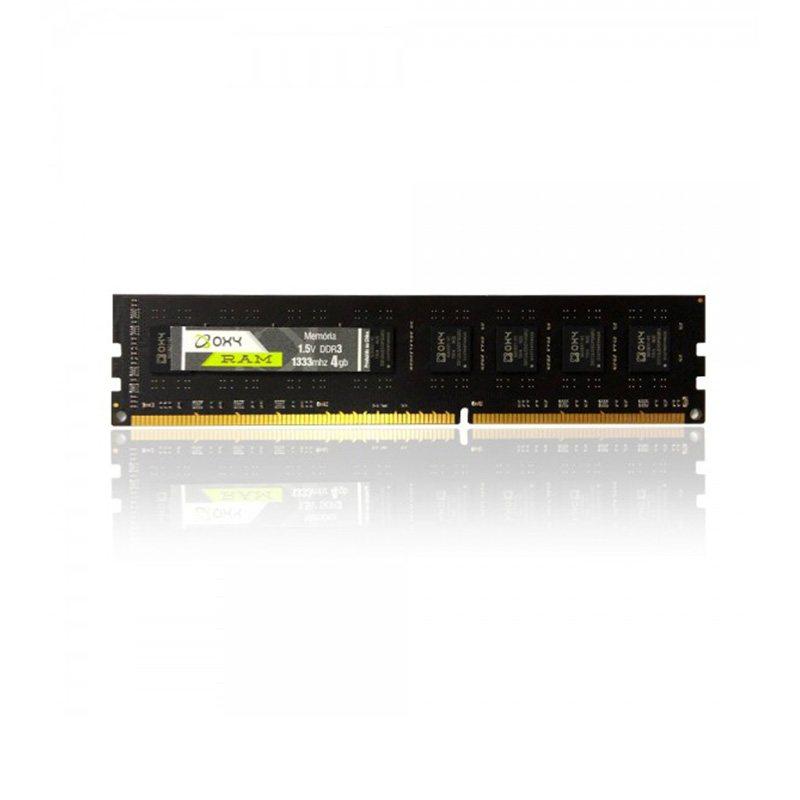 Memória Oxy para Notebook 4GB DDR3 1333MHz  - Districomp Distribuidora