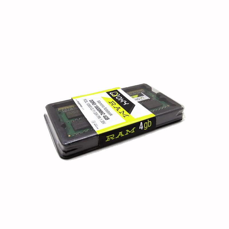 Memoria Oxy Para Notebook 4gb Ddr3l 1600mhz