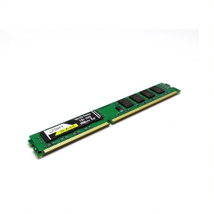 Memoria Para Desktop 2GB Oxy - DDR3 1600MHZ  - Districomp Distribuidora