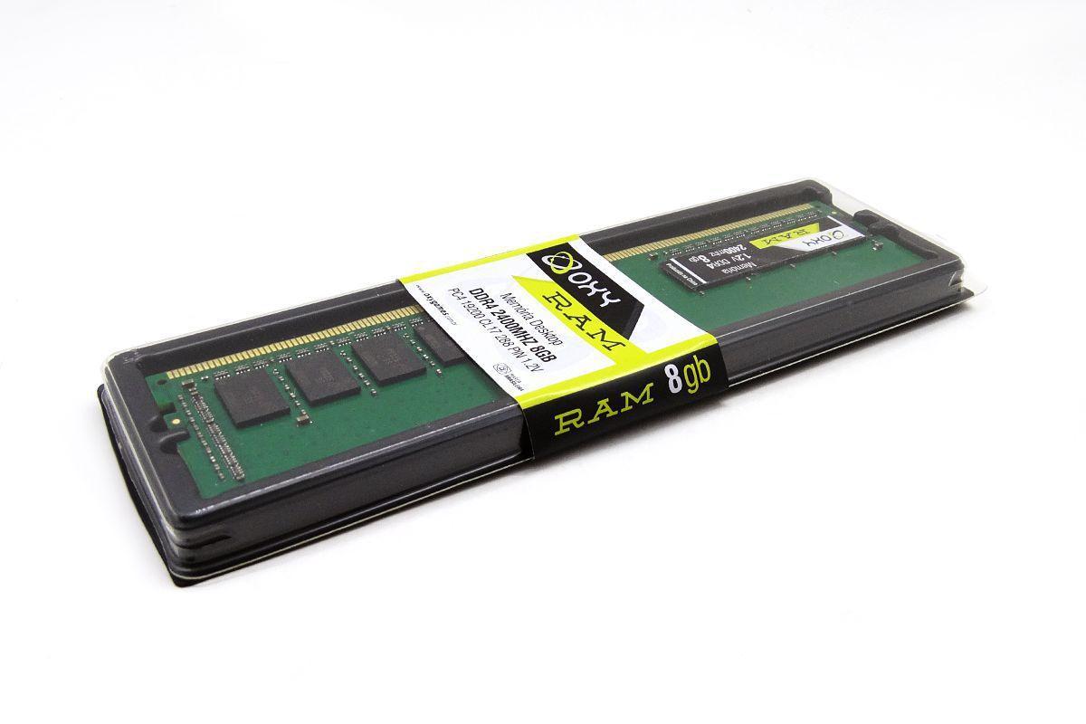 Memoria Para Desktop DDR4 2400MHZ 8Gb 1.2V OXY
