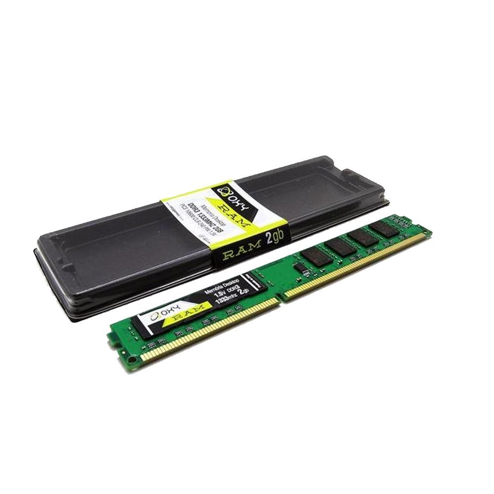 Memoria Para Desktop Oxy - DDR3 2GB - 1333MHZ  - Districomp Distribuidora