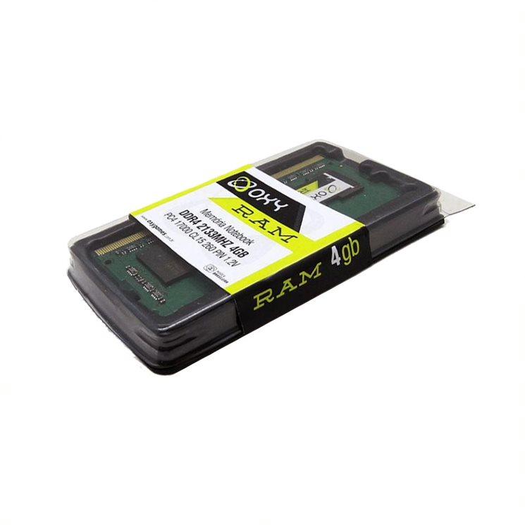 Memoria Para Notebook 4GB Oxy - DDR4 2133MHZ